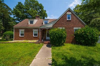 Petersburg Single Family Home For Sale: 1829 Sherwood Road