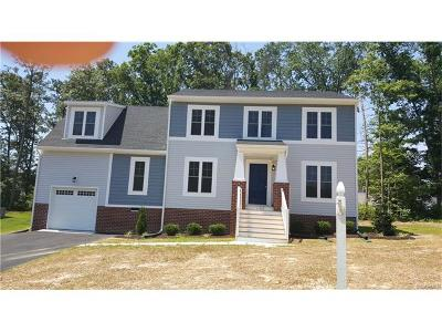 Chesterfield VA Single Family Home For Sale: $276,950