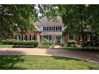 Henrico County Single Family Home For Sale: 9722 Cragmont Drive