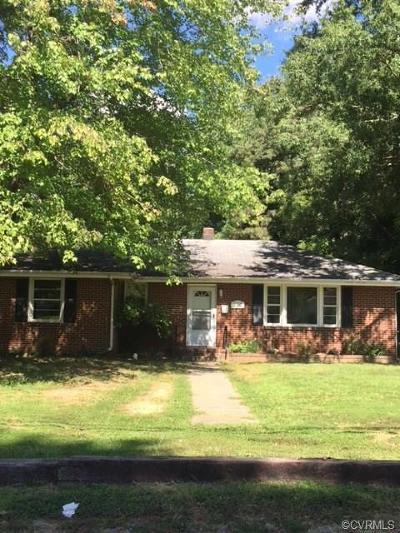 Colonial Heights Single Family Home For Sale: 210 Ridge Road