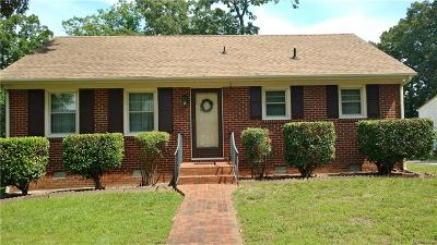Hopewell VA Single Family Home For Sale: $129,950