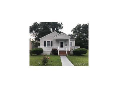Hopewell Single Family Home For Sale: 2107 Lynchburg Street