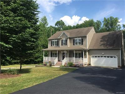Prince George VA Single Family Home For Sale: $274,900