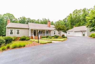 King William Single Family Home For Sale: 6010 Acquinton Church Road