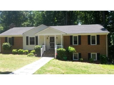 Henrico VA Single Family Home For Sale: $274,900
