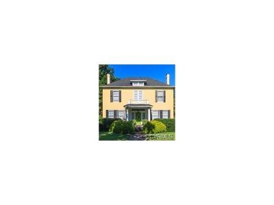 Richmond Single Family Home For Sale: 3012 Seminary Avenue