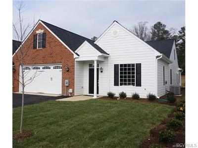 Hanover County Condo/Townhouse For Sale: 10023 Berry Pond Lane