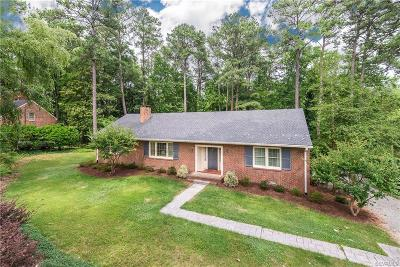 Henrico Single Family Home For Sale: 109 Culpeper Road