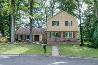 Colonial Heights Single Family Home For Sale: 1315 Appomattox Drive