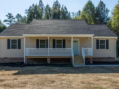 Prince George VA Single Family Home For Sale: $199,900