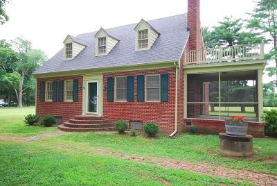 King William Single Family Home For Sale: 5763 Richmond Tappahannock Highway