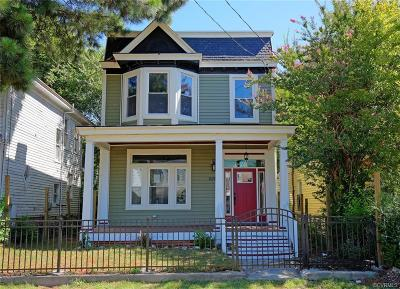 Single Family Home For Sale: 2212 Fairmount Avenue