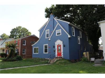Richmond Single Family Home For Sale: 4816 Chamberlayne Avenue