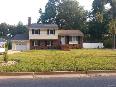 Colonial Heights Single Family Home For Sale: 1109 Yacht Basin Drive