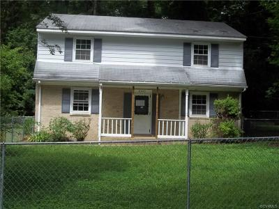 Quinton VA Single Family Home For Sale: $85,000