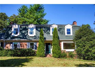 Chesterfield Single Family Home For Sale: 1800 Logan Street
