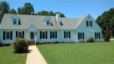 Prince George VA Single Family Home Sold: $290,000