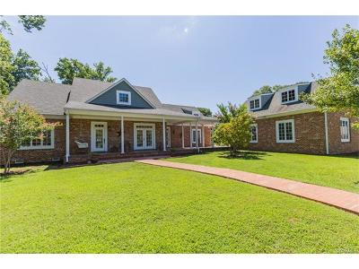 Hopewell Single Family Home For Sale: 101 Christopher Newport Drive