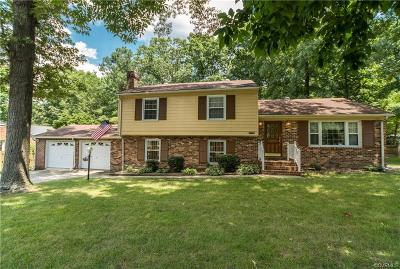 Mechanicsville Single Family Home For Sale: 9256 West Wenlock Drive