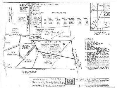 Ashland Residential Lots & Land For Sale: Pinewood Lane