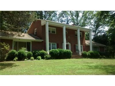 Farmville Single Family Home For Sale: 1500 Gilliam Drive