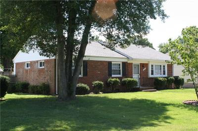 Chesterfield County Single Family Home For Sale: 5931 Slumber Lane