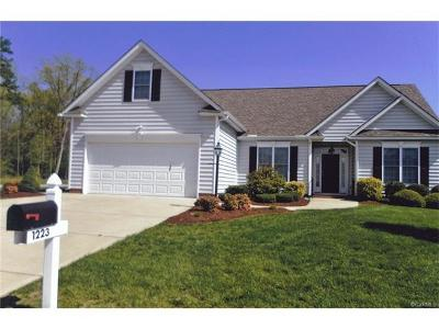 Prince George VA Single Family Home For Sale: $269,500