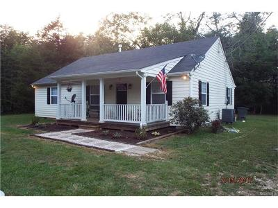Goochland Single Family Home For Sale: 2540 Chapel Hill Road