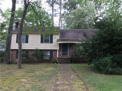 Henrico Single Family Home For Sale: 11301 Wimberly Drive