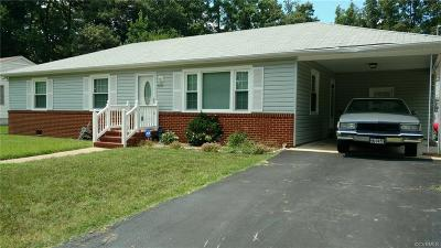 Hopewell VA Single Family Home Sold: $157,500