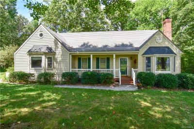 Aylett Single Family Home For Sale: 3183 West River Road