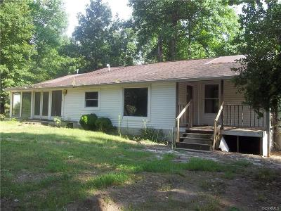 Charles City VA Single Family Home For Sale: $39,900
