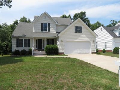 Chesterfield VA Single Family Home Sold: $215,000