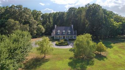 Powhatan County Single Family Home For Sale: 3661 Old River Trail