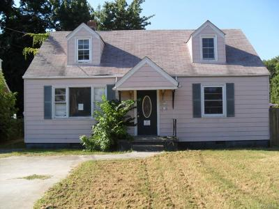 Colonial Heights Single Family Home For Sale: 415 Moorman Avenue