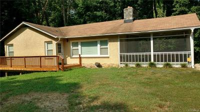 Hopewell VA Single Family Home For Sale: $189,900
