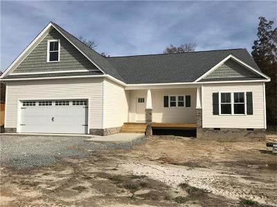New Kent Single Family Home For Sale: Lot 17 Quinton Meadows