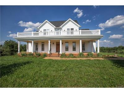 Louisa Single Family Home For Sale: 1658 Evergreen Road