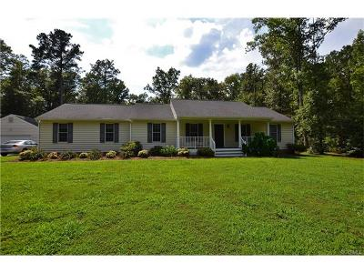 King William Single Family Home For Sale: 1587 Hybla Farm Road
