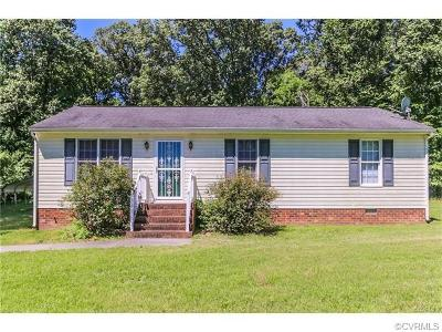 New Kent Single Family Home For Sale: 8834 Cumberland Road