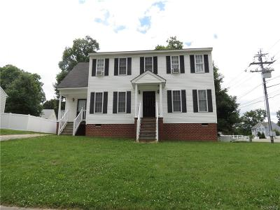Richmond VA Single Family Home Sold: $165,000