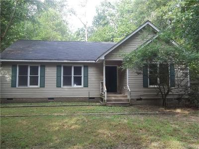 New Kent Single Family Home For Sale: 8821 Old River Road
