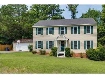 Chesterfield VA Single Family Home For Sale: $239,999