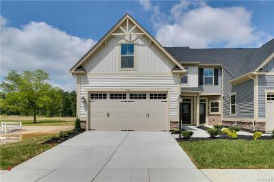 Henrico County Condo/Townhouse For Sale: 7846 Wistar Woods Place #EE