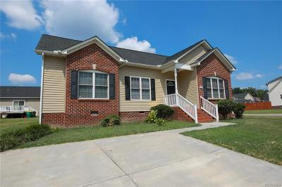 Hopewell VA Single Family Home For Sale: $173,500