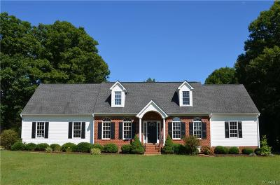 Powhatan County Single Family Home For Sale: 1006 Schroeder Road