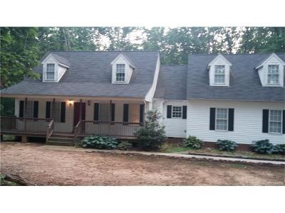 Goochland Single Family Home For Sale: 5511 Duval Road