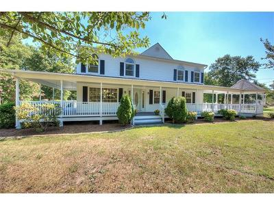 South Chesterfield Single Family Home For Sale: 9826 River Road