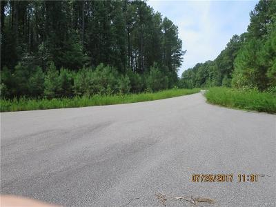 Dinwiddie County Residential Lots & Land For Sale: Tba Turkey Egg Road