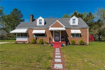 Petersburg Single Family Home For Sale: 848 Nance Drive